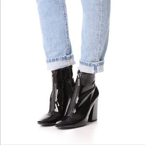 New Kendal Kylie Raquel ankle boots block heel